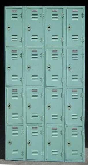 Elegant Antique Gym Lockers