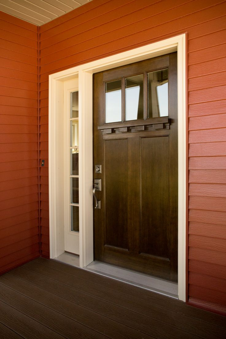 17 best images about exterior doors on pinterest red for Fiberglass entrance doors