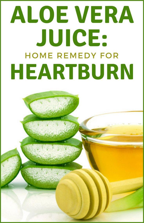 Aloe vera juice home remedy for heartburn home