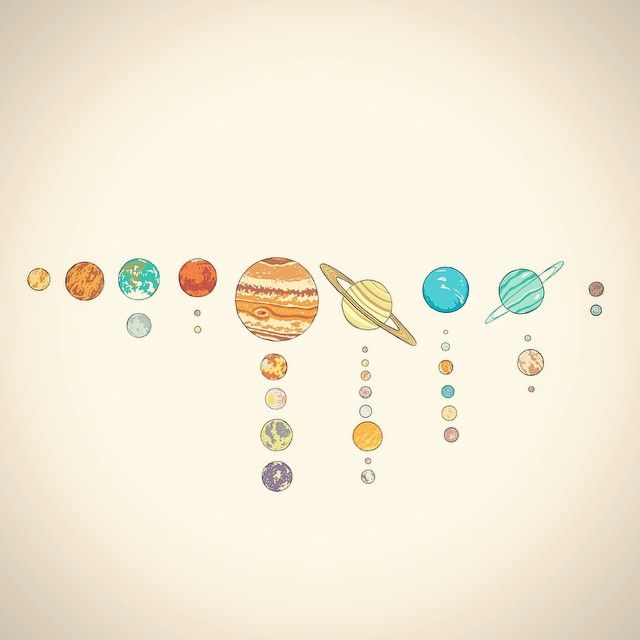 solar system drawing - photo #23