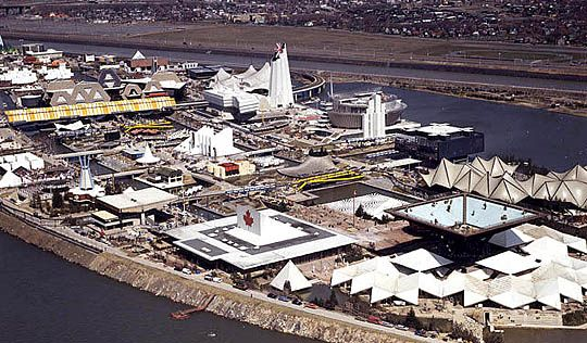 Expo 67 - Aerial Photographs of Isle Notre Dame