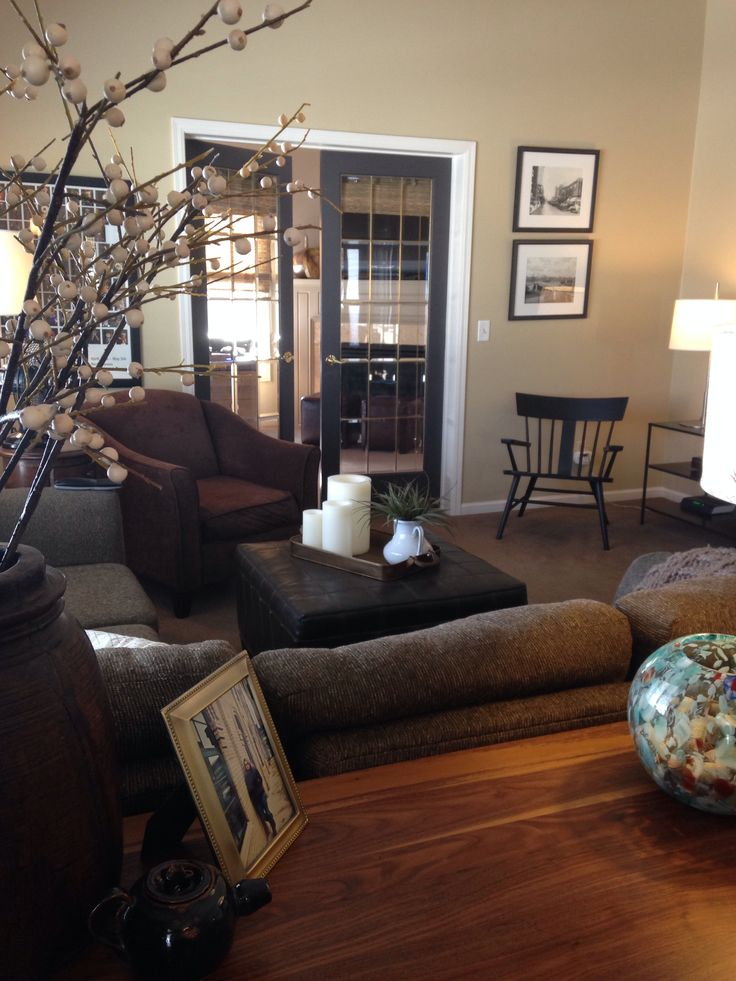 66 Best Images About Living Room On Pinterest Grey Walls Paint Colors And Oak Trim
