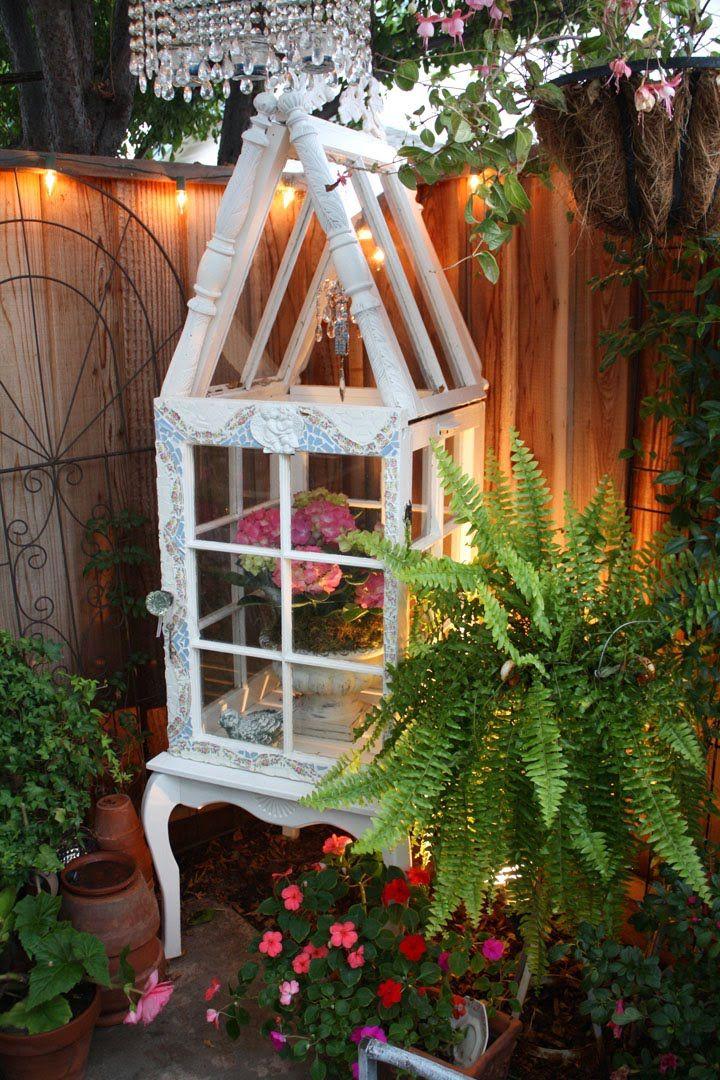 Romantic Home yard conservatory