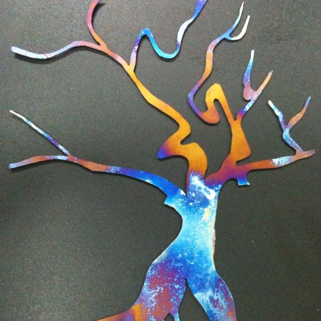 Anodized Titanium Tree (erynmark.com)