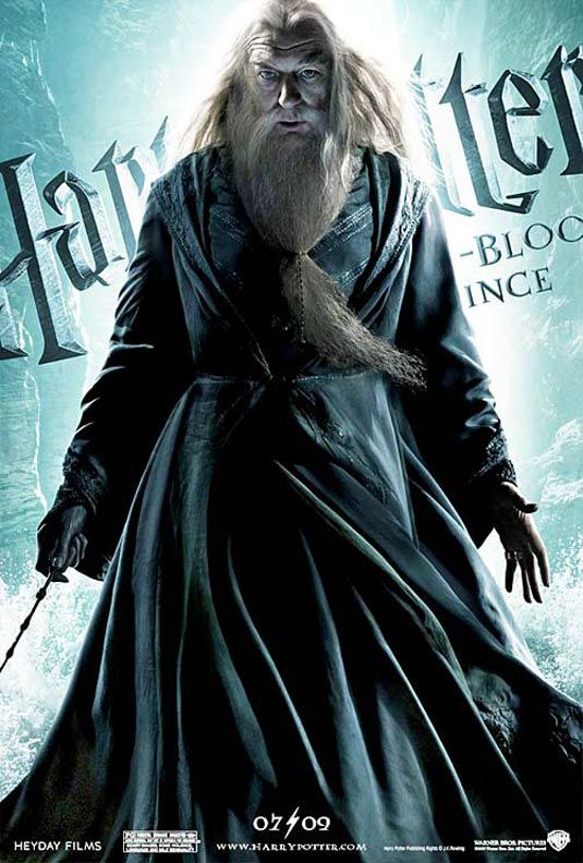 Harry Potter and the Half Blood Prince - Dumbledore