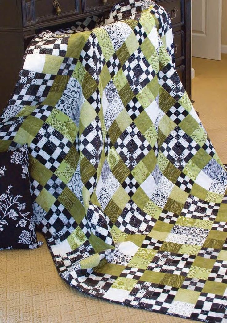1000 Images About Nine Patch Quilts On Pinterest Living