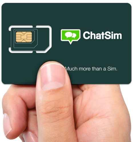 This international SIM card for unlimited texts ($10 per year)