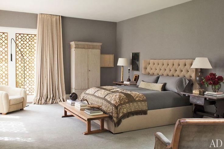Bedroom Ideas - Celebrity Homes Photos | Architectural Digest