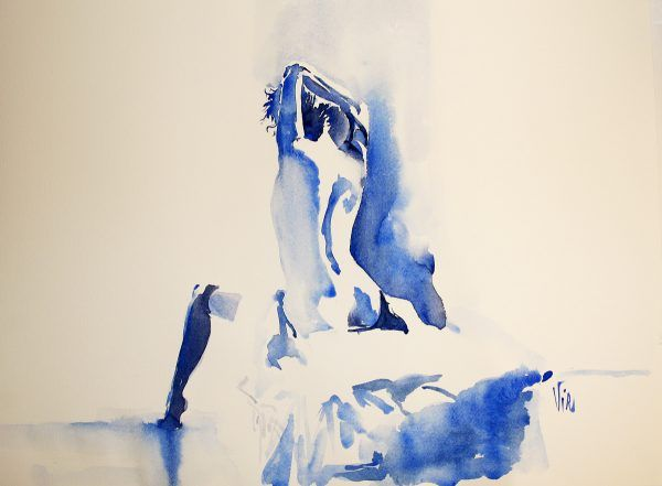 nu aquarelle impression-48