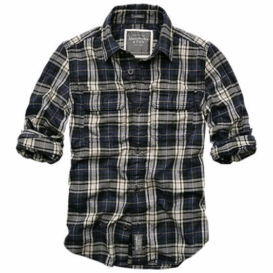 I like this men's plaid shirt