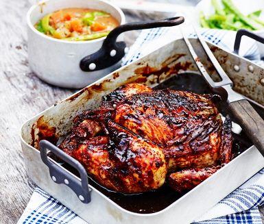 Helgkyckling med massamancurrygryta/ skippa potatis o lägg till fänkål istället