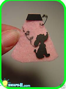 Girl Scout crafts   Poodle Skirt Scout Swaps Girl Craft Kit SWAPS4LESS   eBay