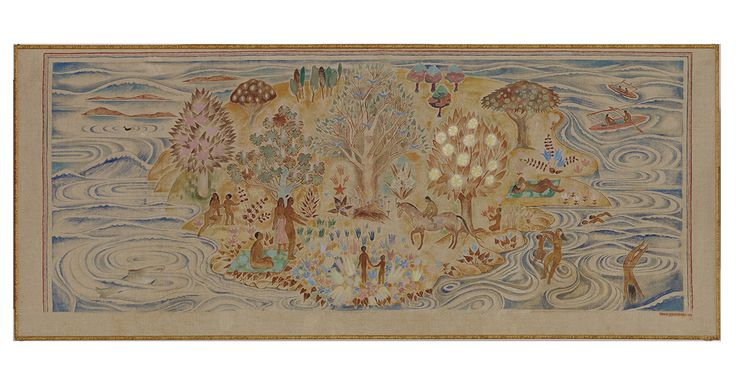 Moomin.com - Tove Jansson: Paradise (Paratiisi), 1940