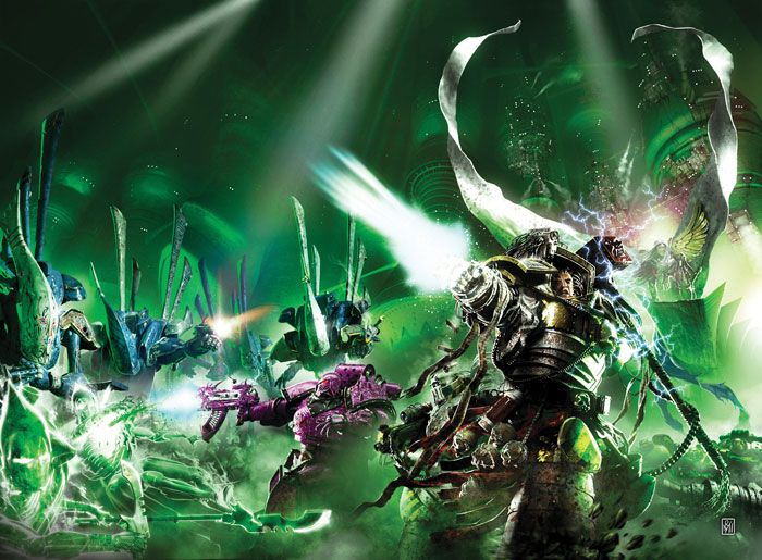 Perturabo and his Iron Warriors fight for their lives against an army of Eldar revenants within the Sepulchre of Isha's Doom at the heart of...