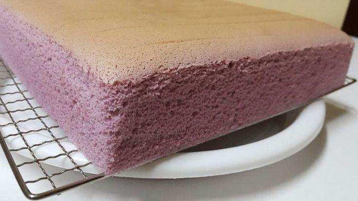 Baking's Corner: Yam Ogura Cake*~ by Elaine Kwan