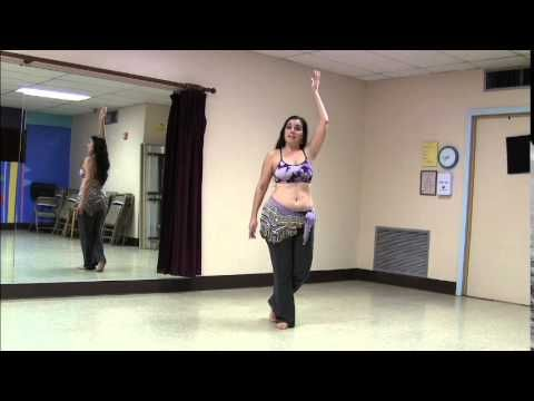 Another Fun Belly Dance Combo - YouTube
