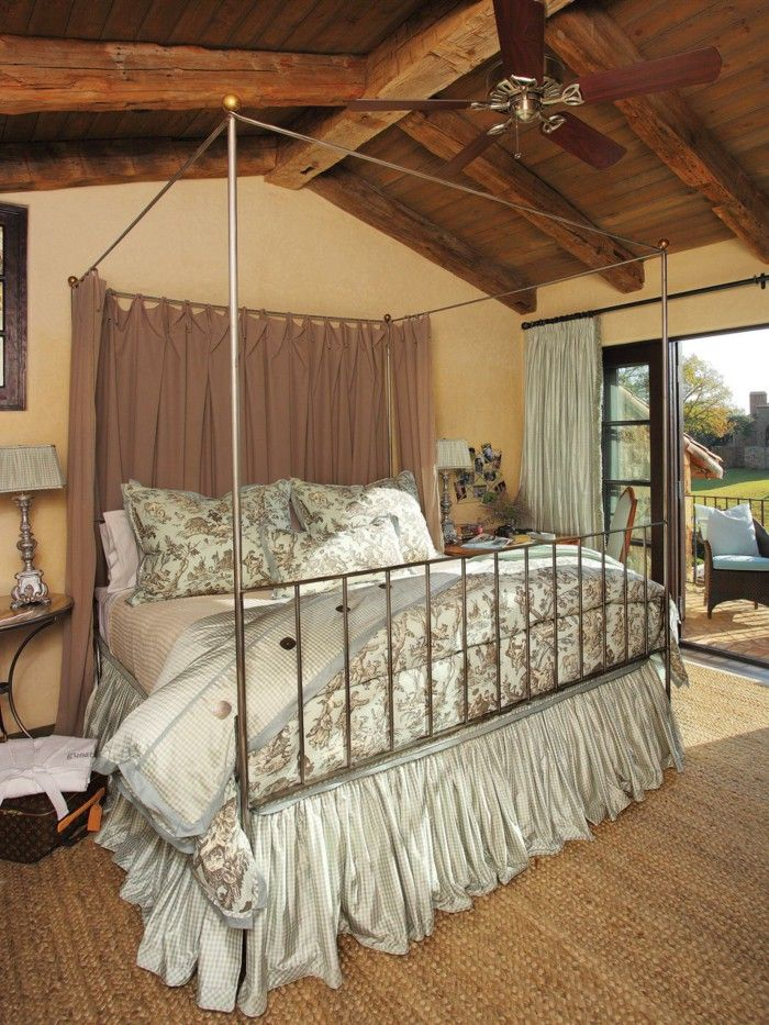 17 best ideas about canopy bed curtains on pinterest bed for Hanging canopy over bed