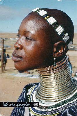 ZIMBABWE - A Northern Ndebele woman