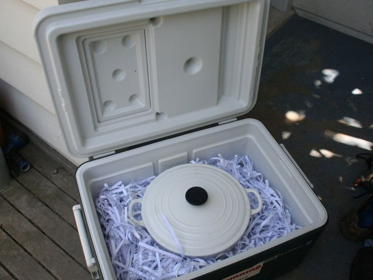 Insulated Cooker | Slow cooking without electricity