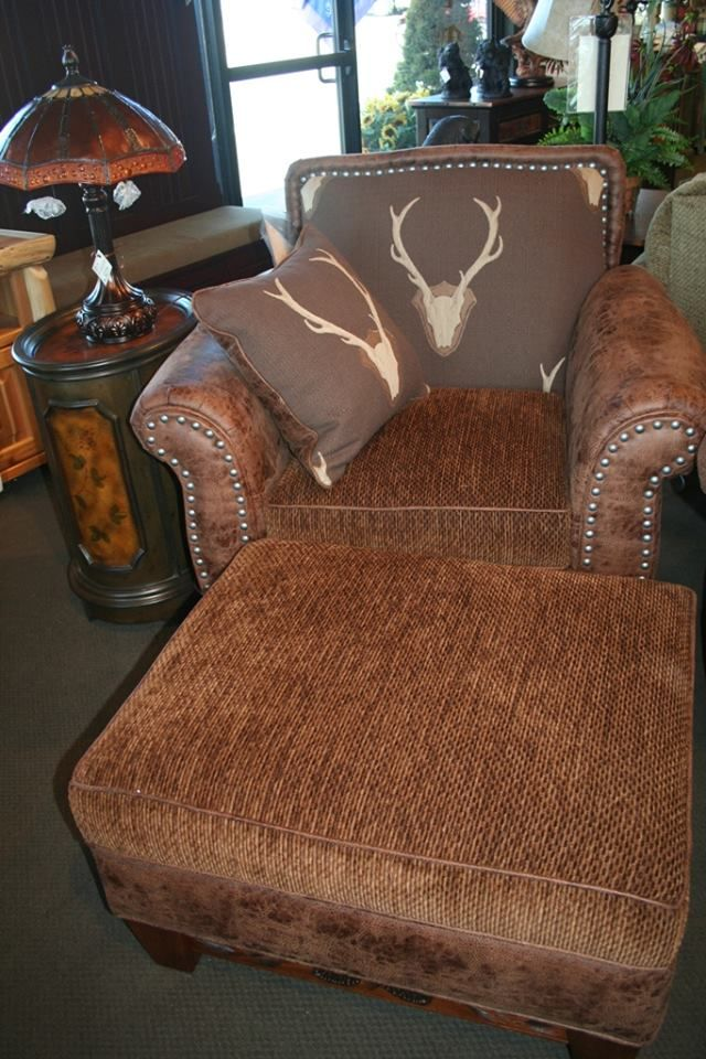 mountain lodge style furniture. gotta love this new chair and ottoman from marshfield furniture mountain stylelodge lodge style l