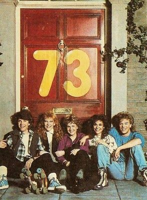 Get down to 73! Neil Buchanan, Dawn Lodge (Andrea Arnold), Ethel Davis (Sandi Toksvig) and Harry Stern (Nick Staverson) provided Saturday morning TV fun in the 1980s. The series ran from 1982 to 1988.