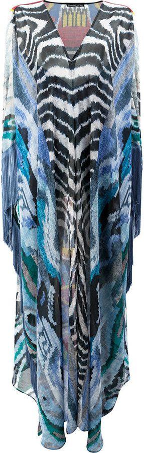 Afroditi Hera long kaftan dress