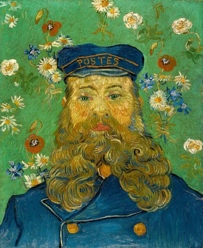 Portrait of Joseph Roulin - Vincent van Gogh — Google Arts & Culture