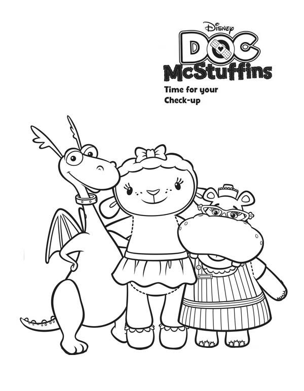 41 best coloring pagesDoc McStuffins images on Pinterest DIY