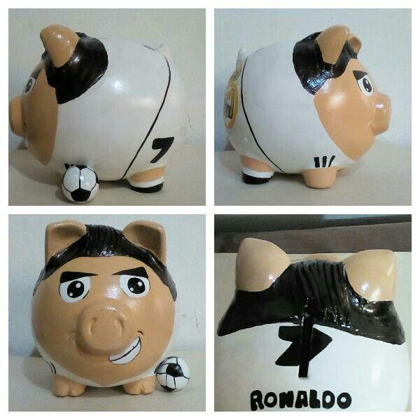 Alcancia Cristiano Ronaldo