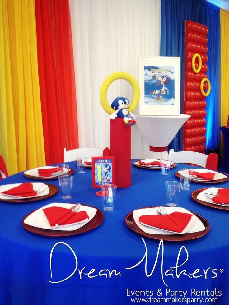 Frozen & Sonic Birthday Party Ideas | Photo 9 of 64 | Catch My Party