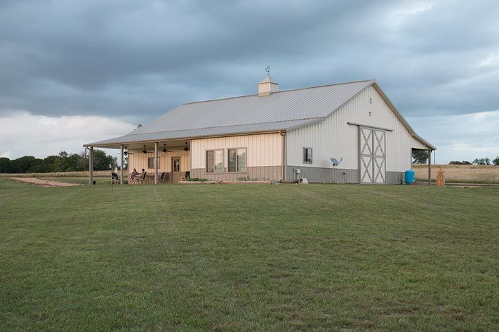 630 best pole barn homes images on pinterest for Steel garage with living quarters