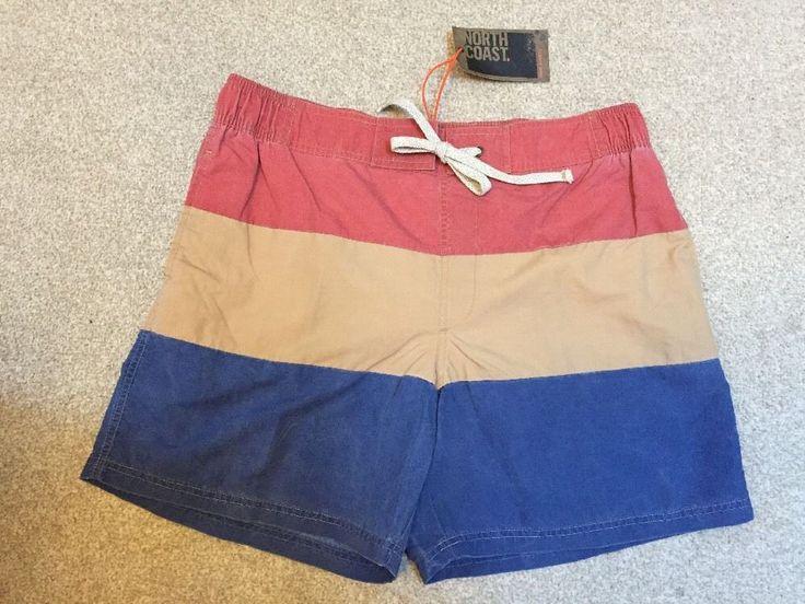 M&S NORTH COAST Swim shorts, Swimwear M (84-89cm, 33-35 ) BNWT RRP£22.50 Coral