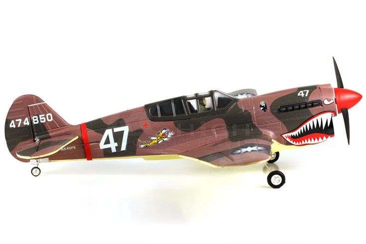 RC Electric Warbirds Transmitter | FMS P40 Warhawk Electric RC Plane 4CH Warbird Airplane ARF