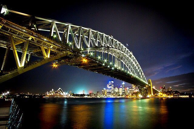 Sidney Harbour Bridge   Sydney, Austrália