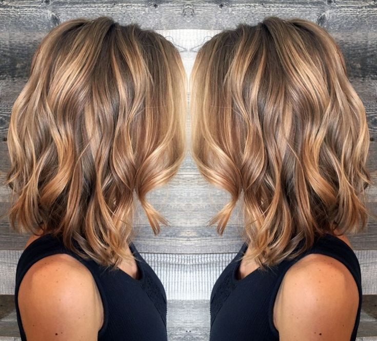 The 25 best caramel highlights ideas on pinterest brunette 70 devastatingly cool haircuts for thin hair brown lob with caramel highlights urmus Choice Image