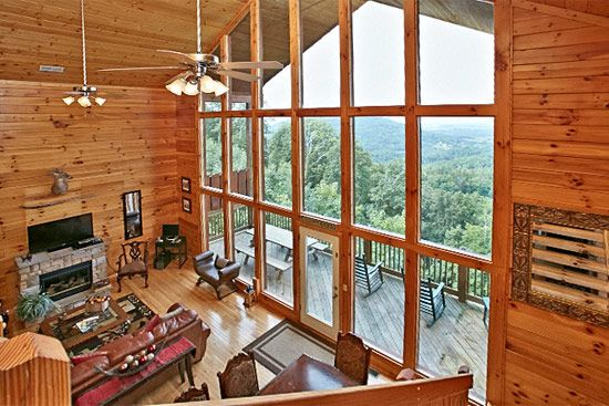 Pigeon Forge Cabin - A View Across the Smokies - 4 Bedroom ...
