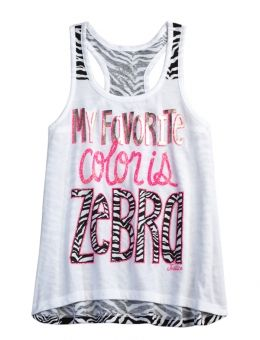 ANIMAL PRINT TANK | GIRLS {CATEGORY} {PARENT_CATEGORY} | SHOP JUSTICE