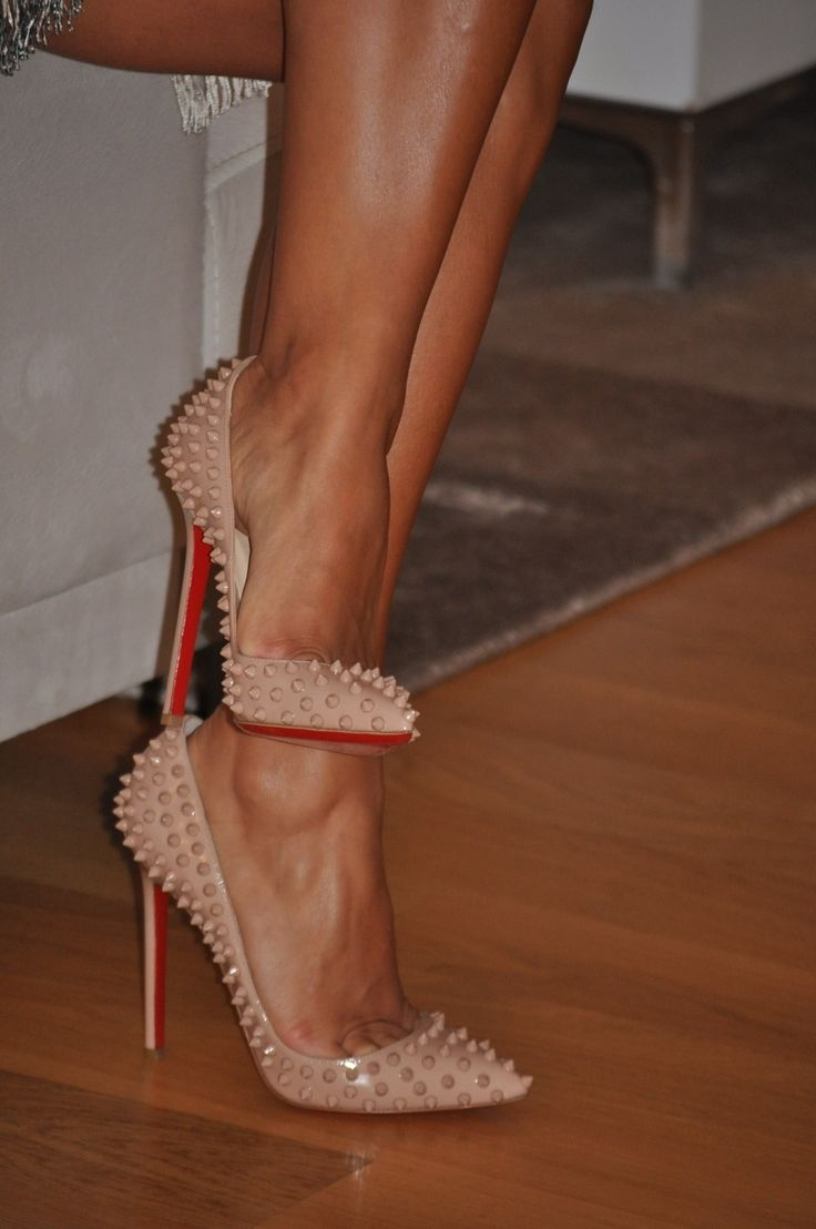 red christian louboutin spikes on toe louboutin sample sale london 2012