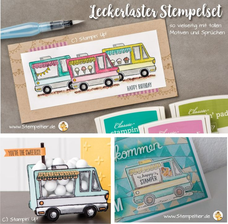 stampin up SAB sale a bration prämien leckerlaster tasty trucks