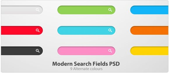 design deck | Modern Search Fields PSD