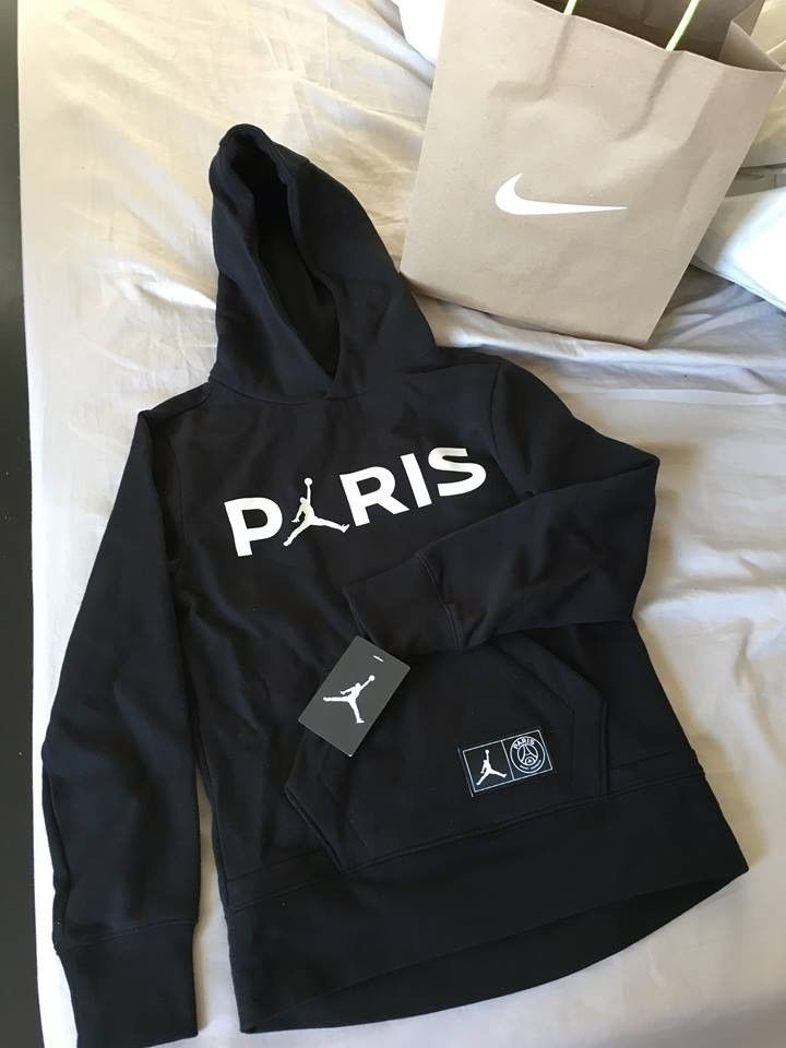 psg x jordan paris saint germain hoodie