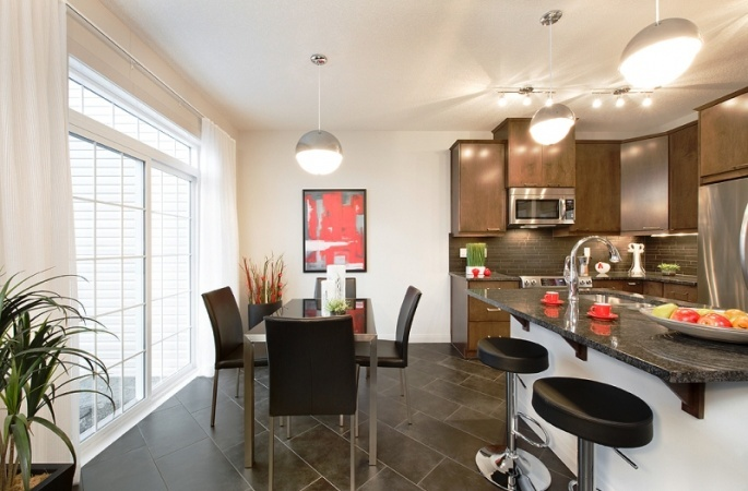 Claremount in Evanston by Broadview Homes. Click here for more #decorating & #decor ideas: http://www.broadviewhomes.com/calgary/photo-gallery #kitchen