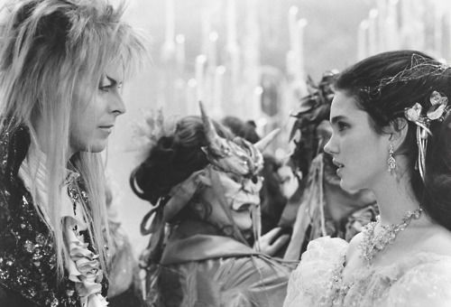 David Bowie and Jennifer Connelly. The Labyrinth