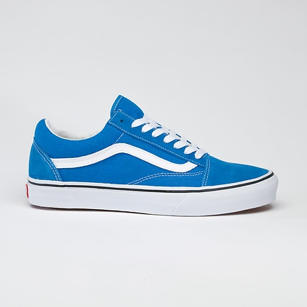 vans old skool brilliant blue true white clothing. Black Bedroom Furniture Sets. Home Design Ideas