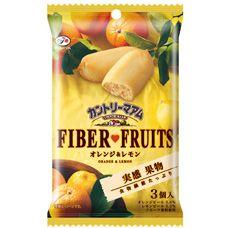 3個カントリーマアム実感果物(オレンジ&レモン) | お菓子・ドリンク | 不二家