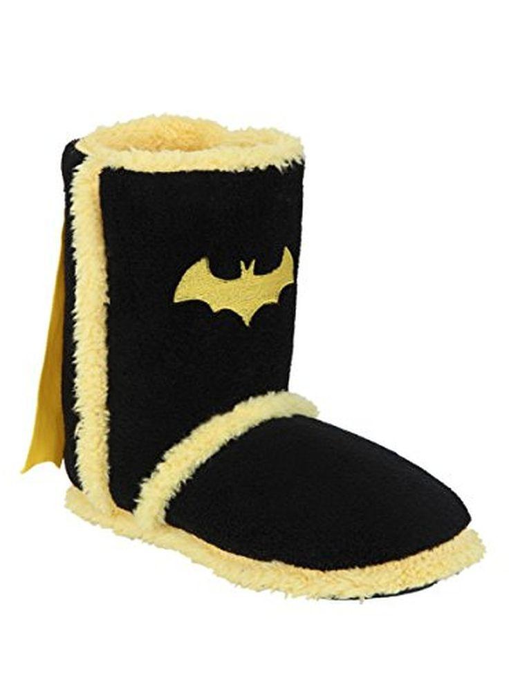 DC Comics Batman Caped Slipper Boots