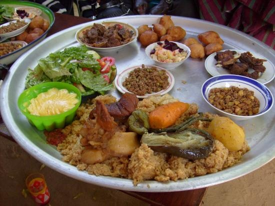 Tchad an assortment of dishes called 14 prefectures for Angie s african cuisine
