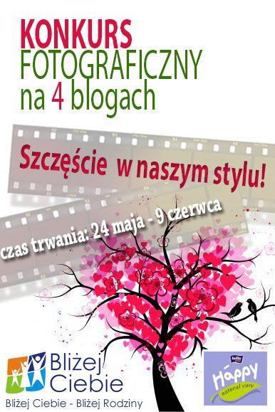 drzewo FOTOGRAFICZNY KONKURS Szczęście w naszym stylu na 4 blogach   ostatnie 3 dni!