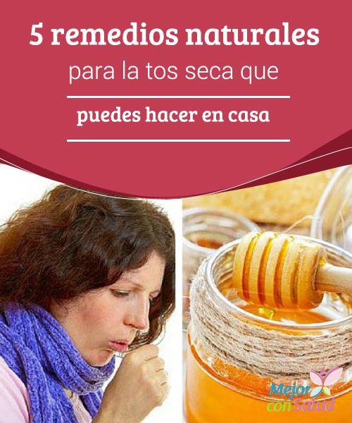 5 remedios naturales para la tos seca que puedes hacer en for Jugos expectorantes que alivian la tos seca