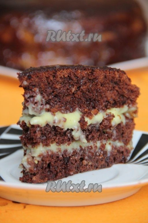 "Сумасшедший пирог ""Crazy Cake"" (рецепт с фото) | RUtxt.ru"